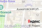 Схема проезда до компании Триколор №1 в Астрахани