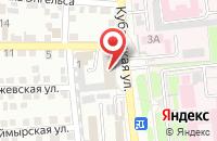 Схема проезда до компании Комус-Волга в Астрахани