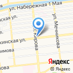 Idillio на карте Астрахани