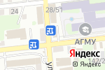 Схема проезда до компании Фирдаус в Астрахани
