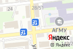 Схема проезда до компании Idillio в Астрахани