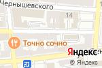 Схема проезда до компании Триугля в Астрахани