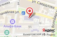 Схема проезда до компании Информационно-маркетинговый центр в Астрахани