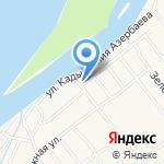 Гриль-дом у Растопулова на Волге на карте Астрахани