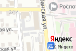 Схема проезда до компании Крафтер в Астрахани