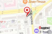 Схема проезда до компании АСТ-АБИКО в Астрахани