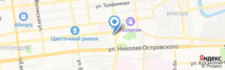 Faberlic на карте Астрахани
