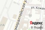 Схема проезда до компании АдмиралЪ в Астрахани