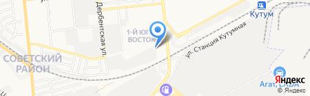 Автомобилист-3 на карте Астрахани