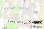Схема проезда до компании ПЛАНЕТА ПУТЕШЕСТВИЙ в Астрахани