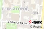 Схема проезда до компании Седьмой континент в Астрахани