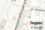 Схема проезда до компании Амисоль в Астрахани