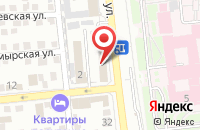 Схема проезда до компании Миком в Астрахани