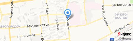 Миком на карте Астрахани