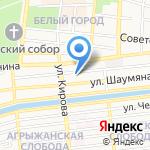 Сфард на карте Астрахани