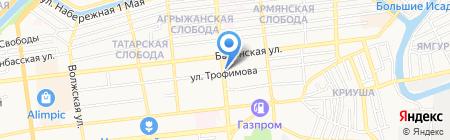 Empire на карте Астрахани