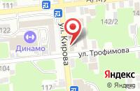 Схема проезда до компании Empire в Астрахани