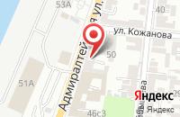 Схема проезда до компании Астраханская торгово-промышленная палата в Астрахани