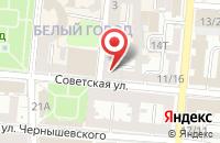 Схема проезда до компании Dance Style в Астрахани