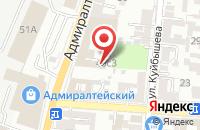 Схема проезда до компании ARAIK в Астрахани