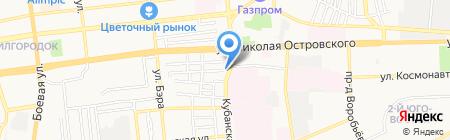 ИнвестSтройГрупп на карте Астрахани