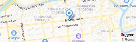 Зам-Зам на карте Астрахани