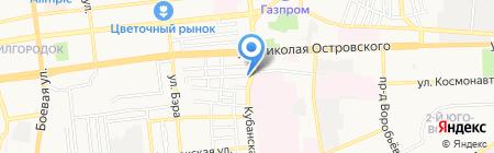 Партнер на карте Астрахани