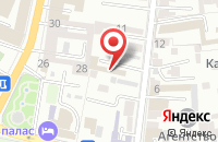 Схема проезда до компании МедиаРегион в Астрахани