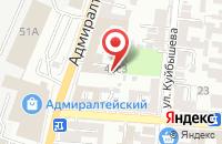 Схема проезда до компании Адвокатский кабинет Романовой Н.Н в Астрахани