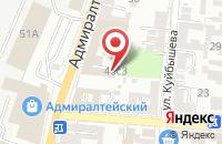 Схема проезда до компании Аварийная Правовая Служба в Астрахани