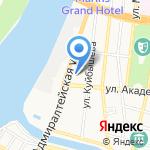 Ключи на карте Астрахани