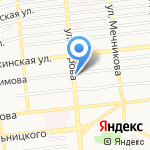 Ломбард Малахит на карте Астрахани