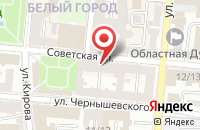 Схема проезда до компании Бюро переводов в Астрахани