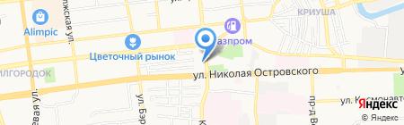 Контакт-Сервис на карте Астрахани