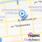 Медицинский специализированный магазин на карте Астрахани