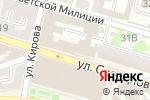 Схема проезда до компании Управление экономической безопасности и противодействию коррупции в Астрахани