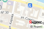 Схема проезда до компании Галина в Астрахани