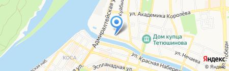 Саратовская государственная юридическая академия на карте Астрахани