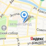Стоматологическая поликлиника №2 на карте Астрахани