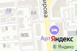 Схема проезда до компании Контакт-Сервис в Астрахани