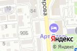 Схема проезда до компании ЭСТЕТ в Астрахани