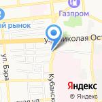 LR на карте Астрахани