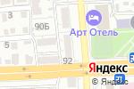 Схема проезда до компании Феррит в Астрахани