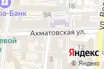 Схема проезда до компании Галантъ в Астрахани