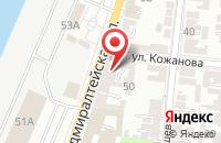 Схема проезда до компании ДВЕРИВЕЛЛ в Астрахани
