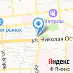 Автолидер на карте Астрахани