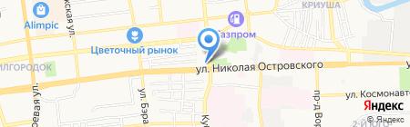 Дамский каприз на карте Астрахани