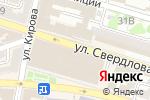 Схема проезда до компании Каспийская корона в Астрахани