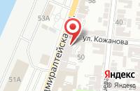Схема проезда до компании АСК - Медиа в Астрахани