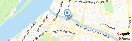 Наследие на карте Астрахани